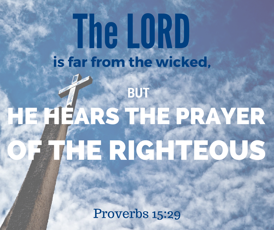 God Hears The Petition Of The Righteous